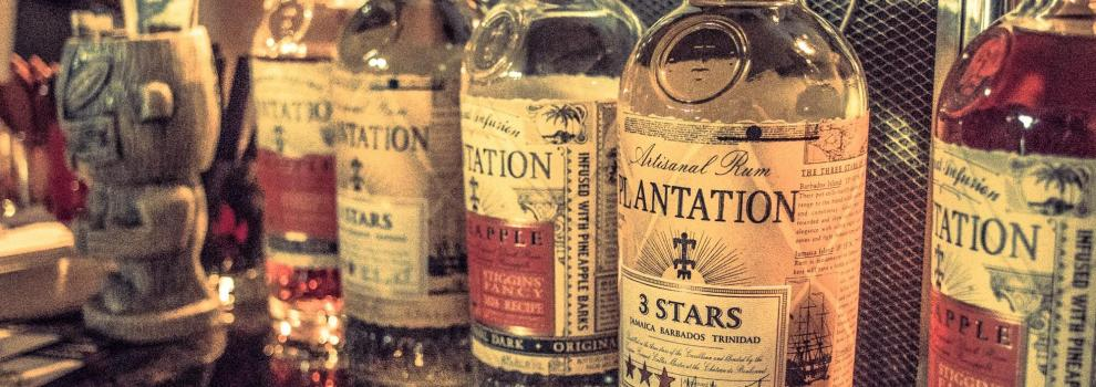 Photo of Plantation Rum bottles